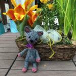 Kitten Lisa from Christiane likes spring
