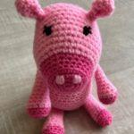 Piggy Scarlett made from Annick