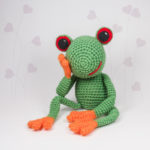Crochet Pattern Frog Fred