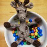 A happy giraffe by Lisa - @rosa.und.lini