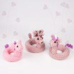 Swimrings crochet pattern