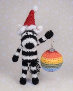 "Zebra ""Zola"" likes everything with stripes"